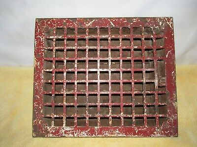 Antique Mission/Arts and Crafts style, Heat Register Grate, from VA Farm House