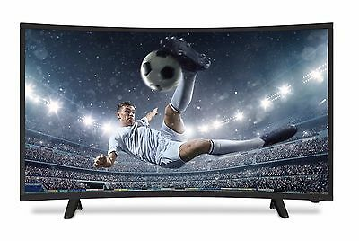 """NEON 32"""" LED CURVED TV FREEVIEW HD CHANNELS 3 x HDMI USB HD 720p BRAND NEW"""