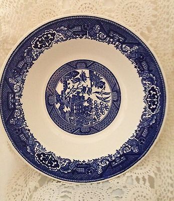 "Blue Willow Royal China Willow Ware Vegetable Serving Bowl    9""  23.5 cm"
