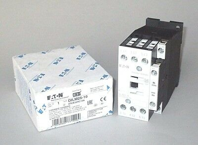 Eaton DILM25-10 Contactor XTCE025C10A, 120 Volt Coil, 15 HP, Free Priority Mail