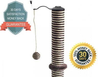 Ancol Premo Deluxe XL Cat Scratching Post 70cm Tall 27.5 inches Acticat Fun Toy