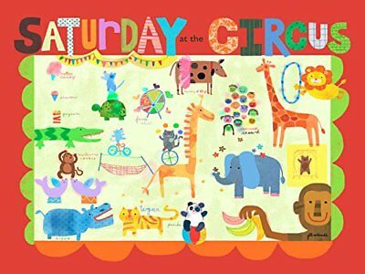 """Saturday at the Circus Canvas Art Size: 18"""" H x 24"""" W x 1.5"""" D"""