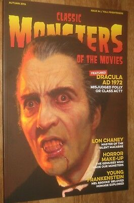 CLASSIC MONSTERS OF THE MOVIES #4  Chris Lee  Dracula cvr.