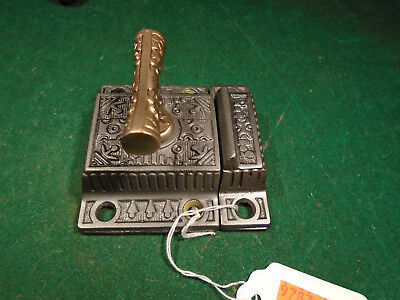 RHC WINDSOR CABINET 'T' LATCH w/MATCHING KEEPER VERY NICE CLEAN PIECE (9787-4)
