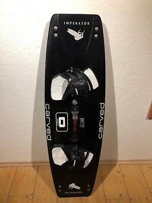 CARVED IMPERATOR 6 137cm x 42cm + ULTRA Pads. Kiteboard ***TOP***