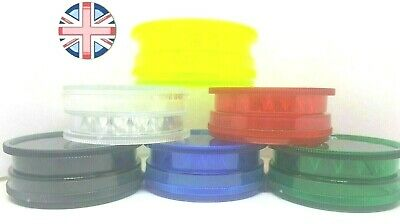 NEW UK Strong Magnetic Herb Grinder Crumbler Hemp Large Shark Teeth Plastic 60mm