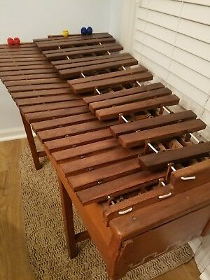 Handmade Wooden Nicaraguan Marimba - Antique 54 Years Old, Excellent Condition.