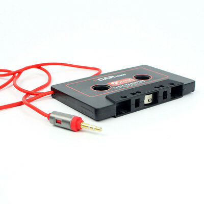 IPod Converter Audio Car CD Player 3.5mm Jack Cassette Tape Adapter AUX Cable