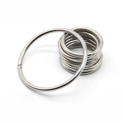 3mm 8mm 304 Stainless Steel Hoop Welded Ring Seamless Solid Round Good Circle