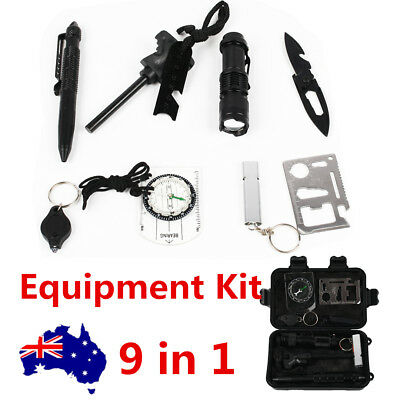 Emergency Survival Kit Outdoor Sports Tactical Hiking Camping Equipment Tool Set