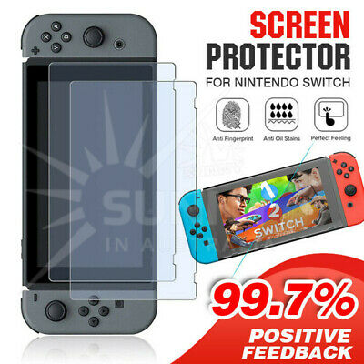 Screen Protector for Nintendo Switch Clear Switch Protective Flim Full Coverage