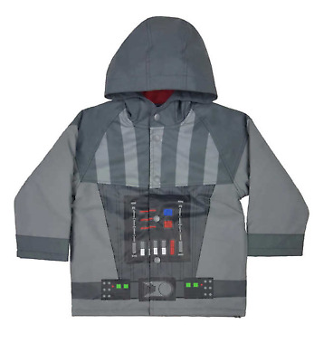 Western Chief Star Wars Hooded Raincoat for Boys - Water Resistant Jacket NWT