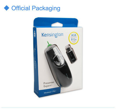 NEW Kensington Presenter Expert Green Laser with Cursor Control and Memory - 8G