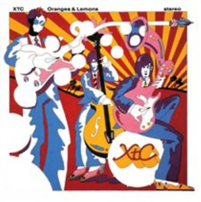 XTC-Oranges & Lemons  (UK IMPORT)  CD with Blu-ray NEW