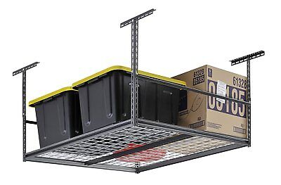 "Muscle Rack LR4848-SV 48""W x 48""D Overhead Garage Adjustable Ceiling Storage ,"