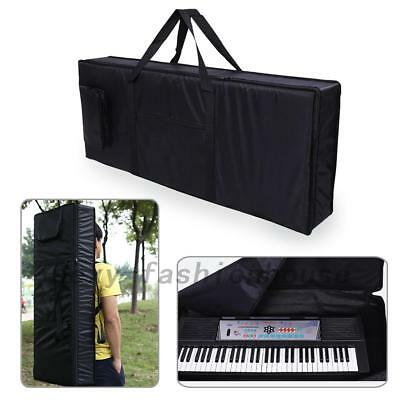 Portable 61-Key Keyboard Electric Piano Padded Case Bag Oxford Cloth SF