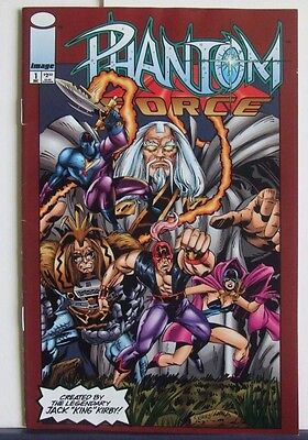 Image Comics Present Phantom Force #1 Dec 1993