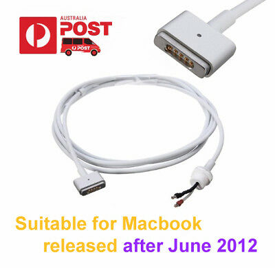 "T-Tip Power Adapter MagSafe 2  Charger Repair Cable for Macbook Pro Air 11"" 13"""