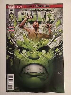 Marvel Comics:  Incredible Hulk #711 (2018) - BN - Bagged and Boarded