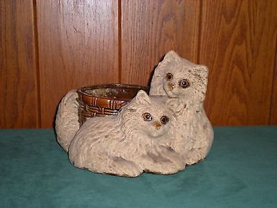 Royal Haeger ~ Animal Planter ~ Kittens ~ Great Vintage Condition