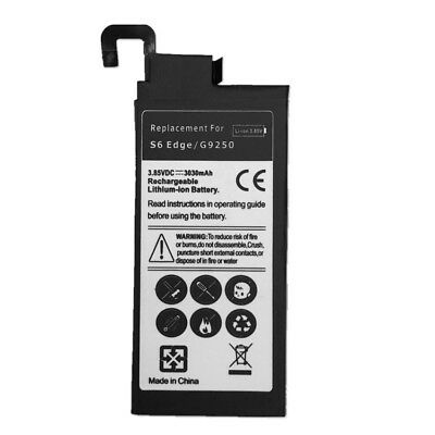Replacement Battery For Samsung Galaxy S6 Edge G9250 3030 mAh