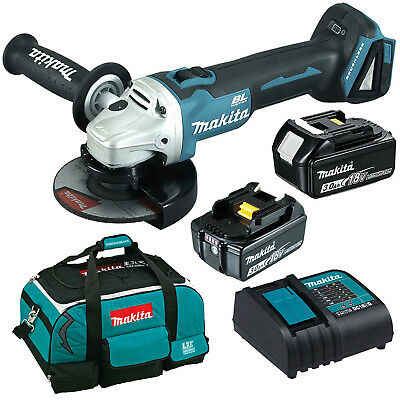 Makita 18V Li-Ion Brushless Angle Grinder 125MM Combo Kit - DGA504RTE