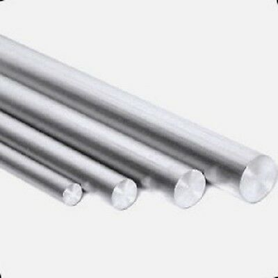 ALUMINIUM ROUND BAR/ROD 4,5,6,8,10,12,16,20mm diameter (in many Lengths)