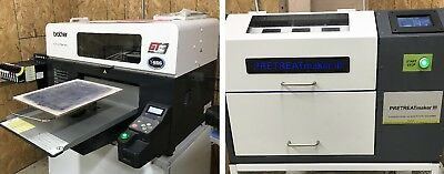 Brother GT-381 DTG printer + Pretreatment Machine *Shipping Available*