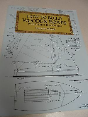 How to build wooden boats Book - Edwin Monk - 16 small boat designs to build