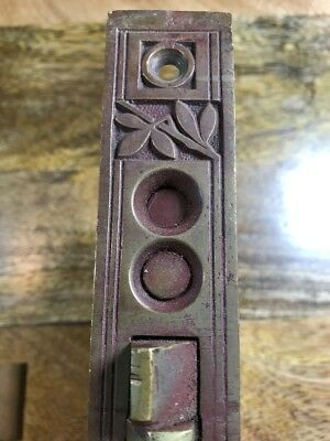 Russell And Erwin Entry Lock With Matching Strike Plate Antique Hardware