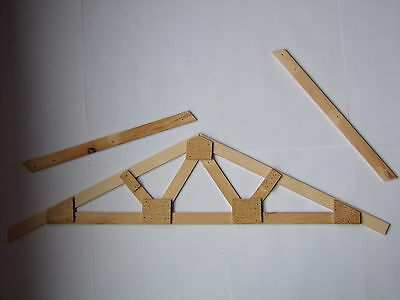 Roof Truss Plans How To Build Make Your Own Exact Custom Size - Wood