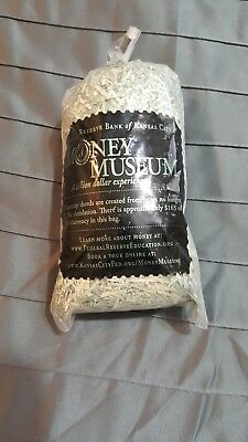 Money Museum Shredded Currency From Federal Reserve Bank Of Kansas City $165.00