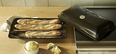 Emile Henry  Baguettes Stampo  Carbone NUOVO OCCASIONE MADE IN FRANCE CERAMICA