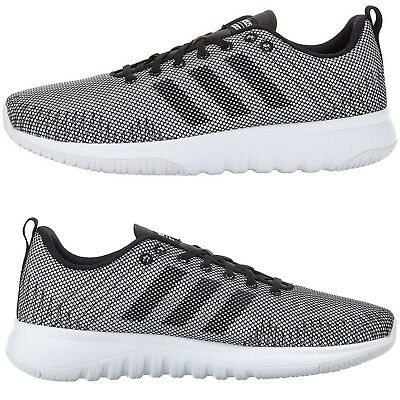 Adidas Women Athletic Shoes CloudFoam Superflex Running Shoes Gray/White NEW