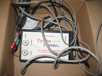 Turbo Tuner  For Icom Good Working Condition Estate
