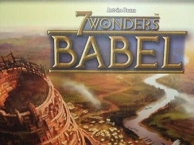 7 Wonders Babel Expansion - Repos Production Games Board Game New! Seven Wonders