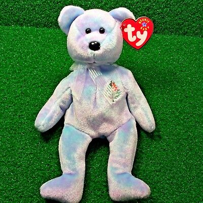 NEW Ty Beanie Baby 2001 Issy Istanbul Four Seasons Hotel Exclusive Bear - MWMT