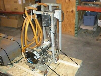 Cole-Parmer MasterFlex 7585-30 B/T Rapid-Load Chemical Pump on Portable Cart
