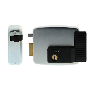 Lock Electrical Cisa 11921.50 Left 50 Mm Electric Lock Apply Gate