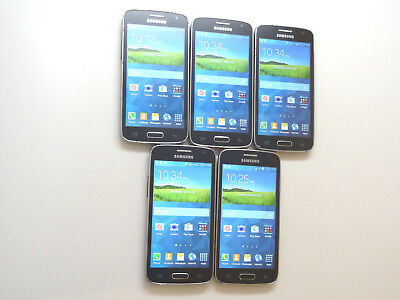 Lot of 5 Samsung Galaxy Avant SM-G386T T-Mobile Smartphones AS-IS GSM