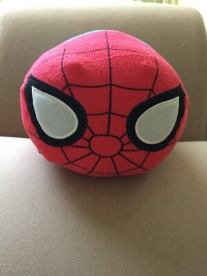 "Authentic US Disney Store Marvel Spiderman Large 18"" Tsum Tsum Plush"