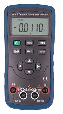 Reed Instruments Thermocouple Calibrator, LCD  R2810