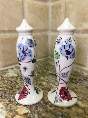 Blue Ridge Southern Pottery CHINTZ - SALT AND PEPPER SET - free shipping