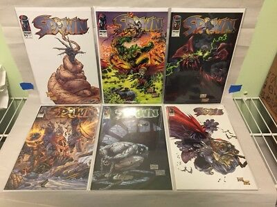 Image Spawn comics, big lot of 48 issues, McFarlane Capullo set 51 to 110