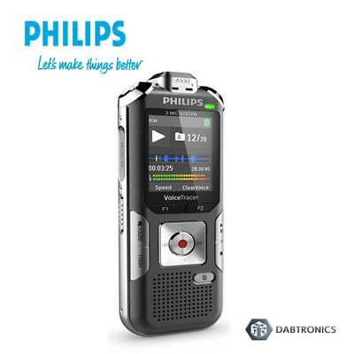 Philips DVT6010 8Gb Voice Tracer Digital Sound Recorder w/3 Mic Stereo Recording