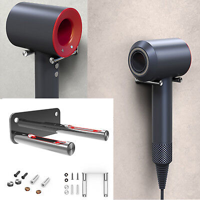 Wall Mount Stainless Steel Bracket Holder for Dyson Supersonic HD01 Hair Dryer
