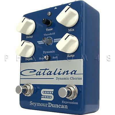 Seymour Duncan Catalina Chorus Dynamic Expression Guitar Effects Pedal - NEW