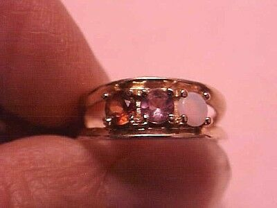 Vintage 10K Yellow Gold Ladies Mother/grandmother Ring From Estate Scrap Gold?