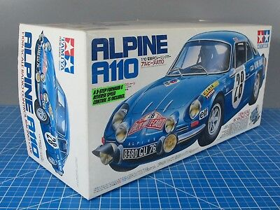 New Vintage Tamiya 110 Rc Renault Alpine A110 Car Kit M 02 Chassis