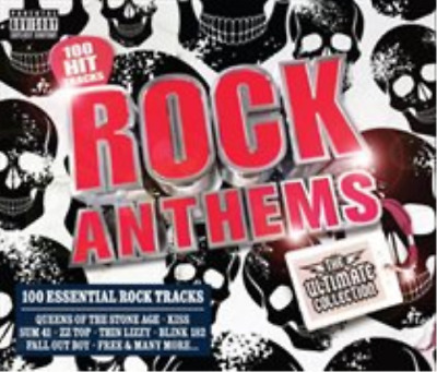 Various Artists-Rock Anthems  (UK IMPORT)  CD / Box Set NEW